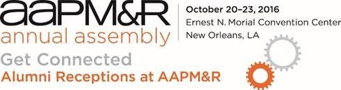 2016 AAPMR Annual Assembly Alumni Reception